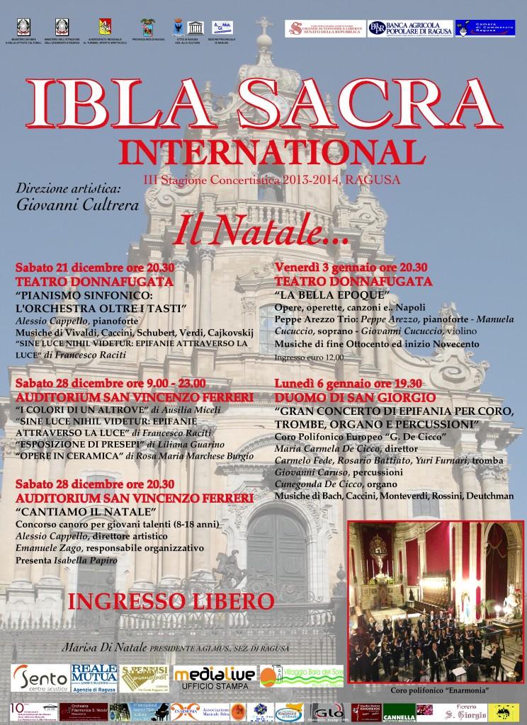Manifesto ibla sacra