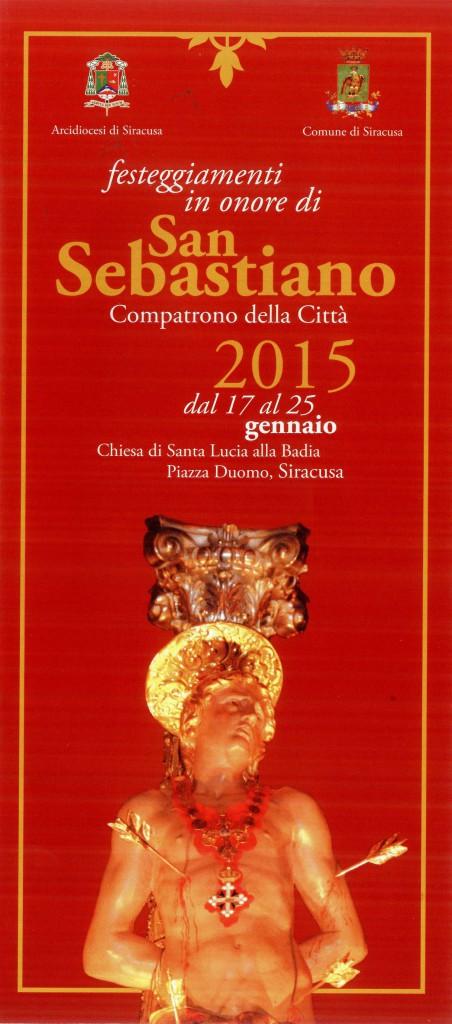 Festeggiamenti San Sebastiano 2015 brochure